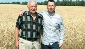 Володимир Львов разом із батьком, Віталієм Львовим, одним із першопрохідців фермерського руху в Україні