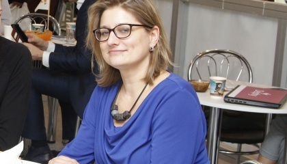 Каролін Спаанс, радник із питань сільського господарства Посольства Королівства Нідерланди в Україні