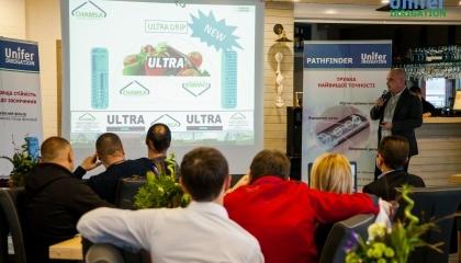 Фахівці компанії Unifer презентують інноваційне обладнання для краплинного зрошення