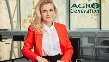 Мар'яна Макар, керівник експортного відділу  AgroGeneration