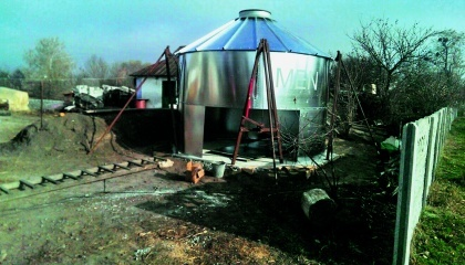 Зернохранилище своими руками