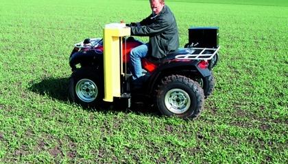 Пробоотборник Wintex 1000 установленный на мотовездеходе