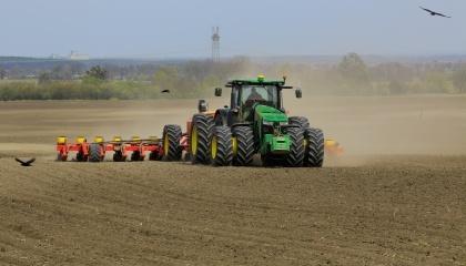 Сеялка Tempo Vaderstad осуществила в Украине рекордный сев - 479 га подсолнечника за 24 часа