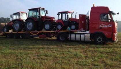 В январе-мае 2017 года белорусский экспорт тракторов вырос на 9%