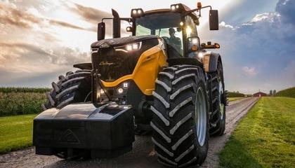 Колісний трактор Challenger 1000