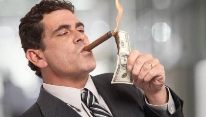 Самые богатые люди страны самом деле нищие. Судя по состоянию их бизнеса, они никогда не смогут вернуть свои долги