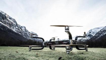 Безпілотник виробляє мало шуму, тому він може літати над територією національних парків і заповідників