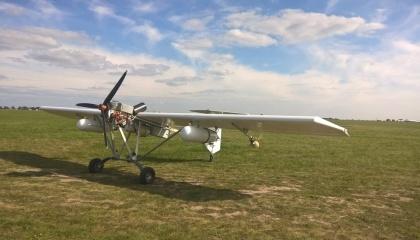 Безпілотний літальний апарат DR-60 для внесення ЗЗР, розроблений українською компанією Aerodrone, успішно здійснив перший виліт