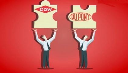 """Рівноцінне злиття компаній The Dow Chemical Company (""""Dow"""") і E.I. du Pont de Nemours & Company (""""DuPont"""") успішно завершено"""