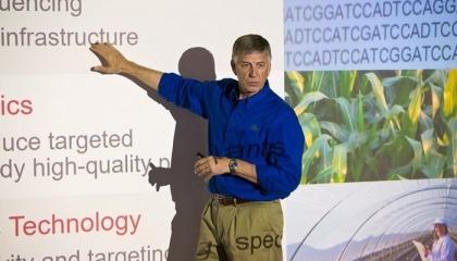 Pioneer работает над созданием своего первого коммерческого продукта, разработанного с использованием передовой технологии селекции CRISPR-Cas, и выводом его на рынок в ближайшие пять лет - продуктов восковидная кукурузы нового поколения