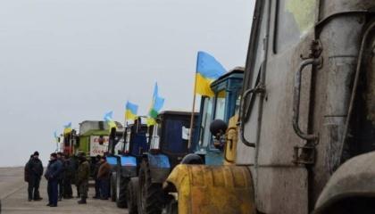 всеукраинский страйк аграриев - всеукраїнський страйк аграрів