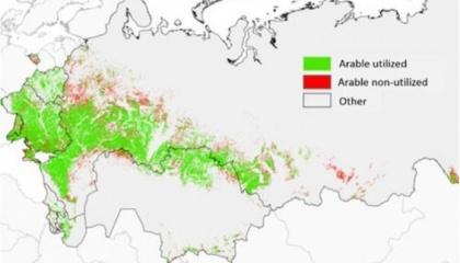 Результат моделювання для України такий: виробничий потенціал зернових до 2030 р. - 100 млн т, а експортний потенціал - 60 млн т