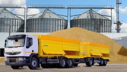 Из-за выросших затрат на перевозку зерна автотранспортом с зернового рынка Украины уходят компании-перевозчики