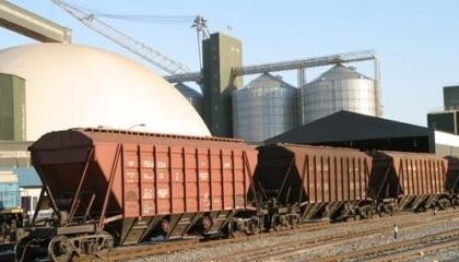"""Комплекс будет осуществлять перегрузку зерновых и масличных грузов, продуктов переработки (шрот, жмых, отруби) и любых других сыпучих грузов по технологической схеме """"ж/д вагон — автотранспорт"""""""