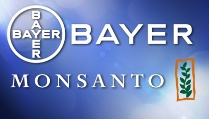 Bayer Monsanto логотип