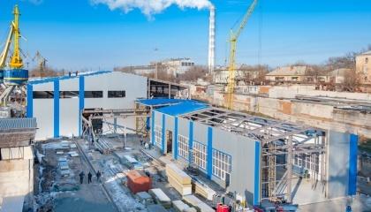 Завдяки модернізації заводу та співпраці з ЄІБ компанія «Нібулон» матиме можливість будувати до 15 одиниць вантажного флоту в рік