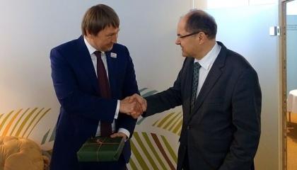 Украинская делегация и бизнесмены приняли участие в «Зеленой неделе», который проходит в Берлине с 20 по 29 января