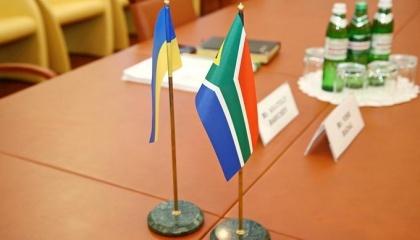 Україна експортує до ПАР пшеницю, насіння соняшнику, кукурудзу та іншу сільськогосподарську продукцію