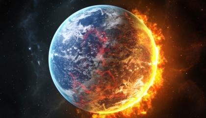 Аномально низкие показатели температуры в начале лета связана с нагревом мезосферы и явным перегревом других слоев воздушной оболочки