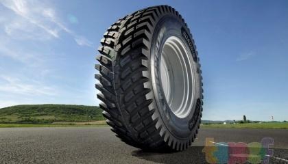 Французький виробник Michelin представив нову сільськогосподарську шину. RoadBib, розроблену спеціально для підрядників, які використовують трактори потужністю понад 200 к.с.