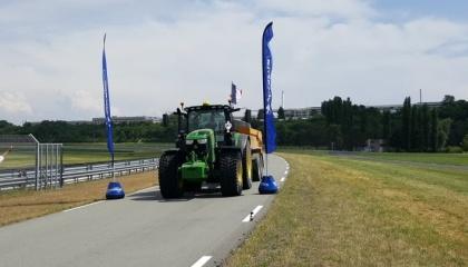 На території нового випробувального центру компанії Michelin в містечку Ладу (Франція), відбувся черговий Чемпіонат Європи серед трактористів