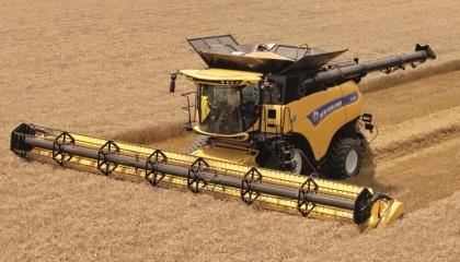 Уборка ранних зерновых в Херсонской области началась в одной из первых в Украине и продолжается уже больше недели