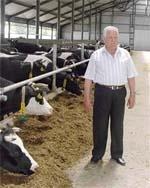Шлях якісного молока фото, ілюстрація