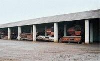 Зберігання сільгоспмашин  і технологічного обладнання фото, иллюстрация