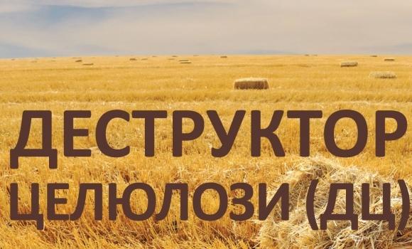Деструктор целюлози (ДЦ) — турбота про вашу землю    фото, ілюстрація