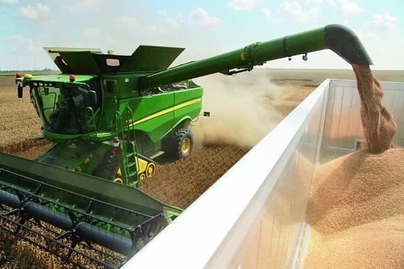 Роторний зернозбиральний комбайн John Deere S690 фото, ілюстрація