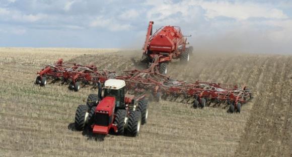 Дисковий та анкерний сошники для прямого висіву зернових культур  фото, ілюстрація