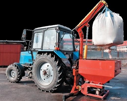 Ефективна техніка для вантажно-розвантажувальних робіт в сільському господарстві фото, ілюстрація
