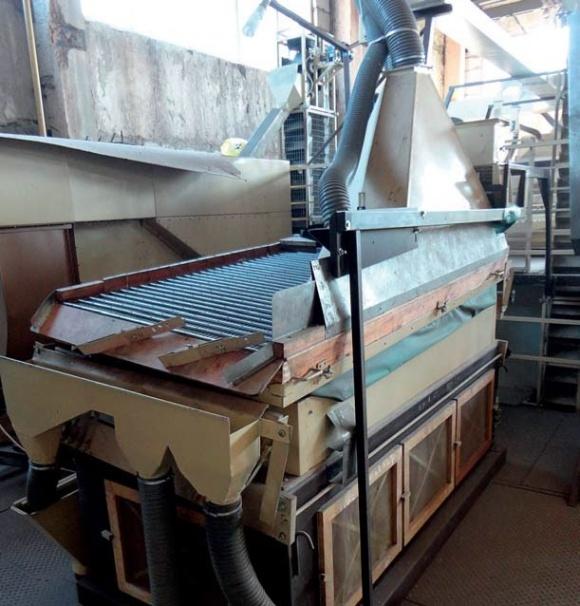 Вітчизняні зерноочисні машини для виробництва високоякісного зерна фото, ілюстрація