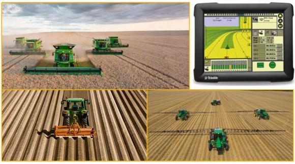 Система точного землеробства економить ваші гроші фото, ілюстрація