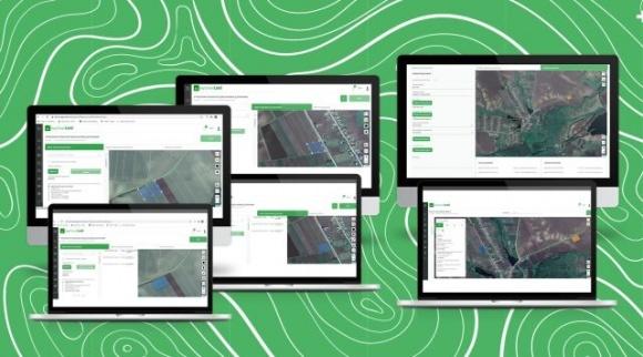 Оновлення управління реєстрами земельних ділянок в IT-системі управління земельним банком AgriChain land фото, ілюстрація