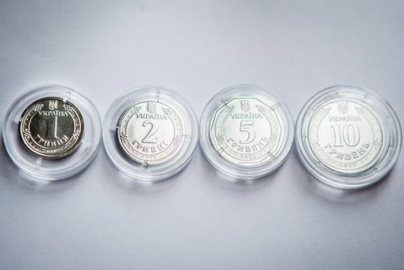 Нацбанк вводить в обіг нові монети номіналом 1 та 2 гривні  фото, ілюстрація