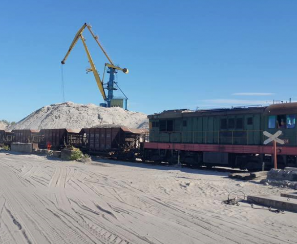 Киевский речпорт будет отправлять грузы железной дорогой по всей Украине фото, иллюстрация
