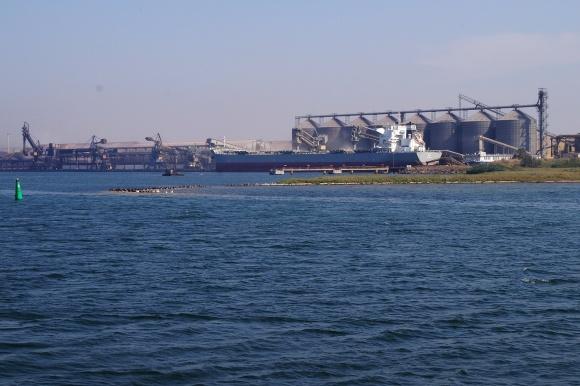 Пусковой комплекс зернотерминала Cargill и MV Cargo уже введен в эксплуатацию фото, иллюстрация