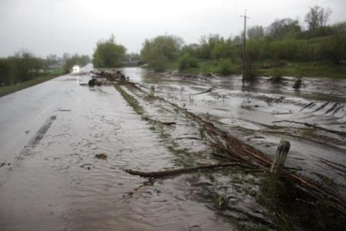 """""""На городах все змито, хати підтоплено"""": села на Волочищині потерпають від жахливої повені фото, ілюстрація"""