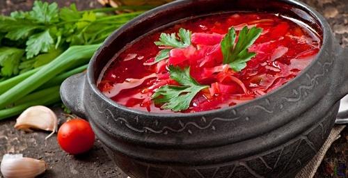 Украинский борщ вошел в ТОП-3 самых популярных блюд в мире фото, иллюстрация