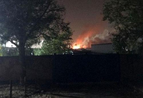 Причиной пожара на заводе «Потоки» мог стать сбой в работе автоматики, – директор предприятия фото, иллюстрация
