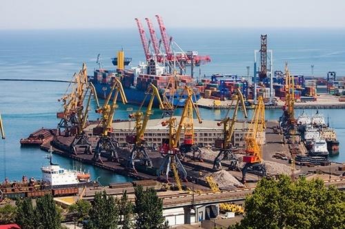 До кінця року в Одеському морському порту запрацює зерноперевантажувальний комплекс фото, ілюстрація