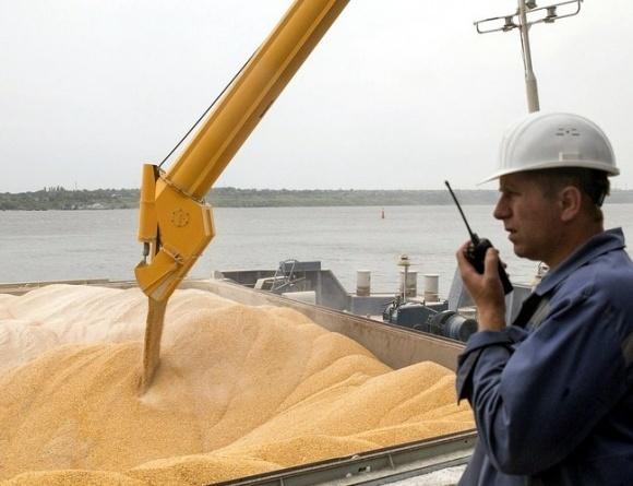 Морпорти скоротили тижневу перевалку зерна на 45% фото, ілюстрація