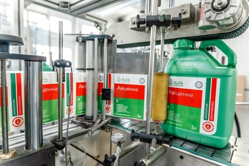На заводі ALFA Smart Agro автоматизували фасування препаратів фото, ілюстрація