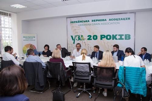 Володимир Лапа та представники УЗА обговорили експорт українського зерна до Китаю фото, иллюстрация