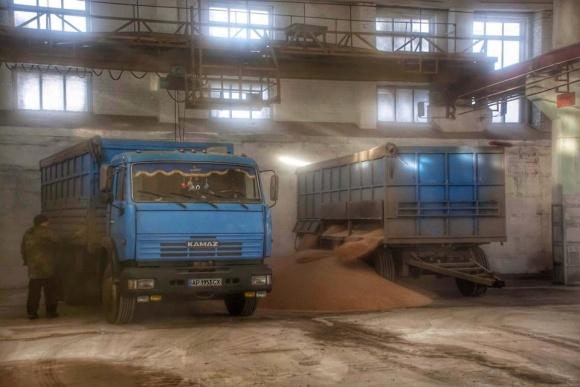 У Бердянську почав роботу новий морський термінал для приймання зерна фото, ілюстрація