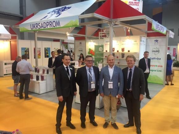 Международная выставка Asia Fruit Logistica'2018: украинские аграрии покоряют азиатские просторы фото, иллюстрация
