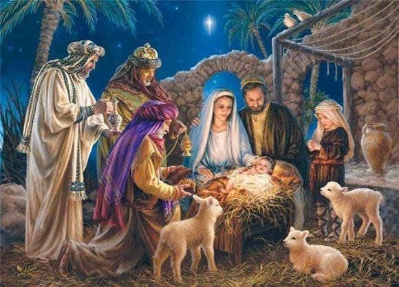 Вітаємо з Різдвом Христовим! фото, ілюстрація