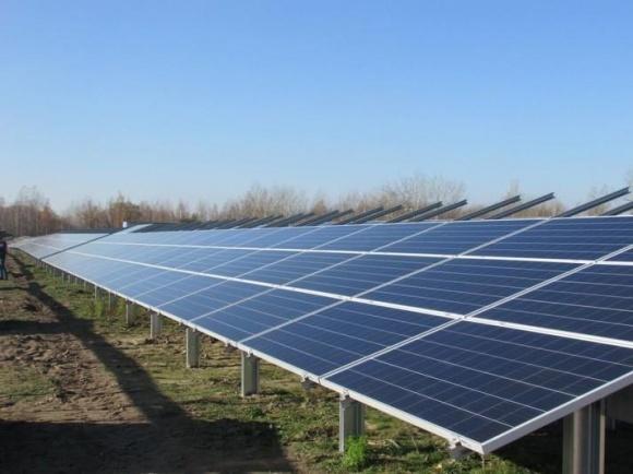 На Полтавщине строят солнечную электростанцию мощностью 15 МВт фото, иллюстрация