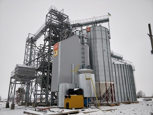 Завершен монтаж оборудования первой очереди элеватора ЧСП «Злагода» в Ровенской области фото, иллюстрация